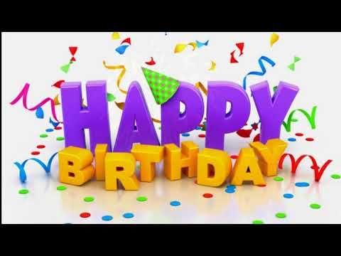 Happy Birthday To You Most Popular Version Youtube Happy Birthday Wishes Cards Happy Birthday Wishes Images Happy Birthday Images