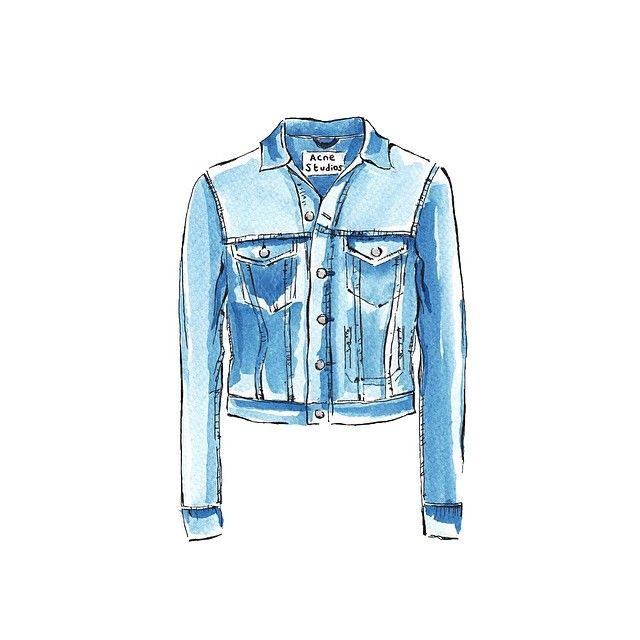 Acnestudios Acnestudios Denim Denimjacket Fashion Style