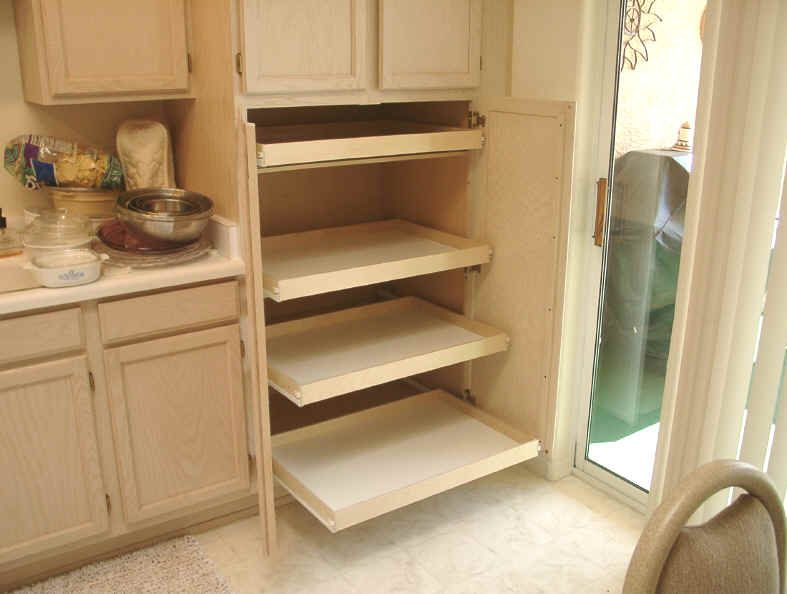 Kitchen Pull Out Shelves | Are You T Ired Of Trying To Find Anything In The