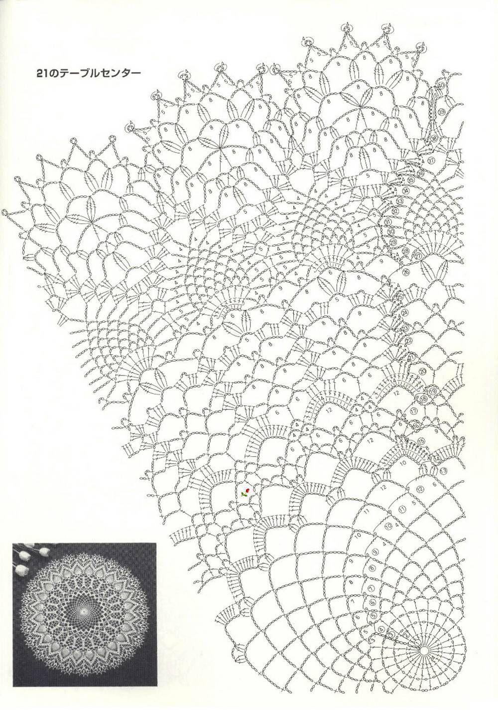 Pin by RieQa on Doilies | Pinterest | Crochet, Crochet doilies and ...