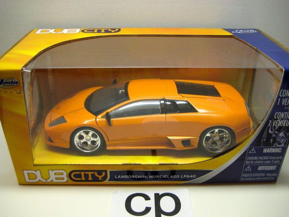 Jada dub city lamborghini murcielago lp640 1:24 orange cars jada toys