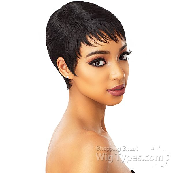 Sensationnel Synthetic Wig Instant Fashion Wig Ruby 15596 In 2020 Short Wig Styles Wig Styles Wig Hairstyles