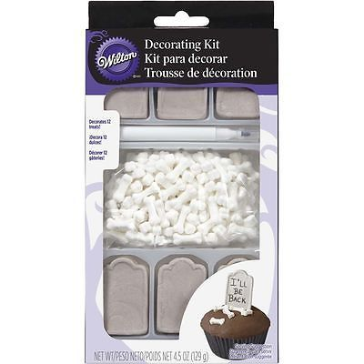 #Graveyard halloween #cupcake #decorating kit - wilton,  View more on the LINK: http://www.zeppy.io/product/gb/2/172378125800/