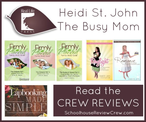 Books And Family Bible Studies By Heidi St John Real Life Press Review Family Bible Study Real Life Homeschool Reviews