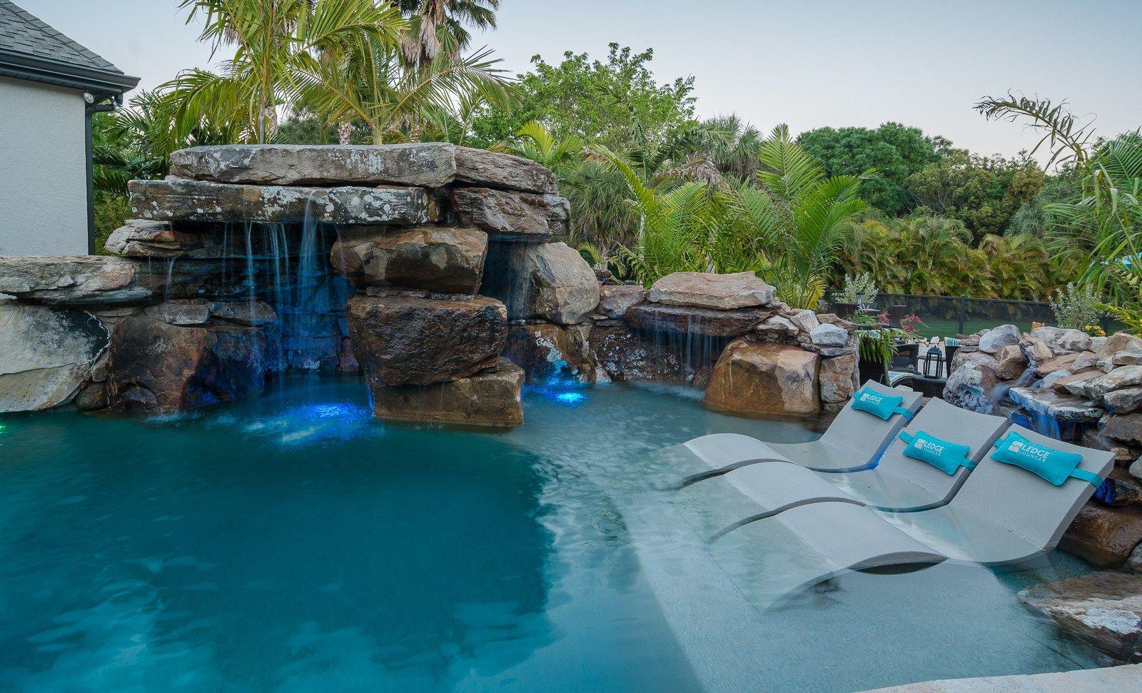 Fiesta De Laguna Swimming Pool Designs Backyard Pool Swimming