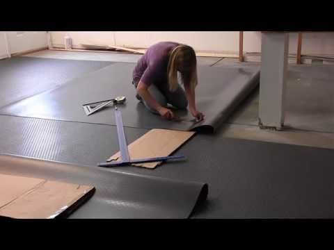 How To Install G-Floor Garage Floor Mats from Better Life Technology: GarageFlooringLLC.com