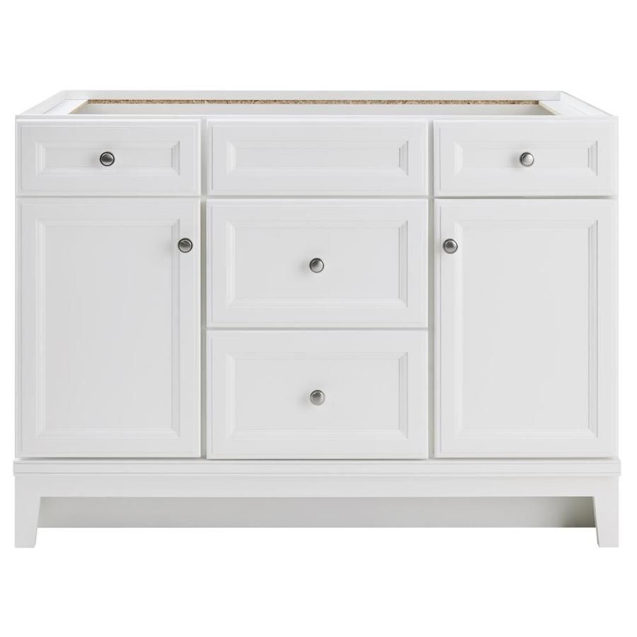 Photo Album For Website Diamond FreshFit Calhoun White Bathroom Vanity Common in x in