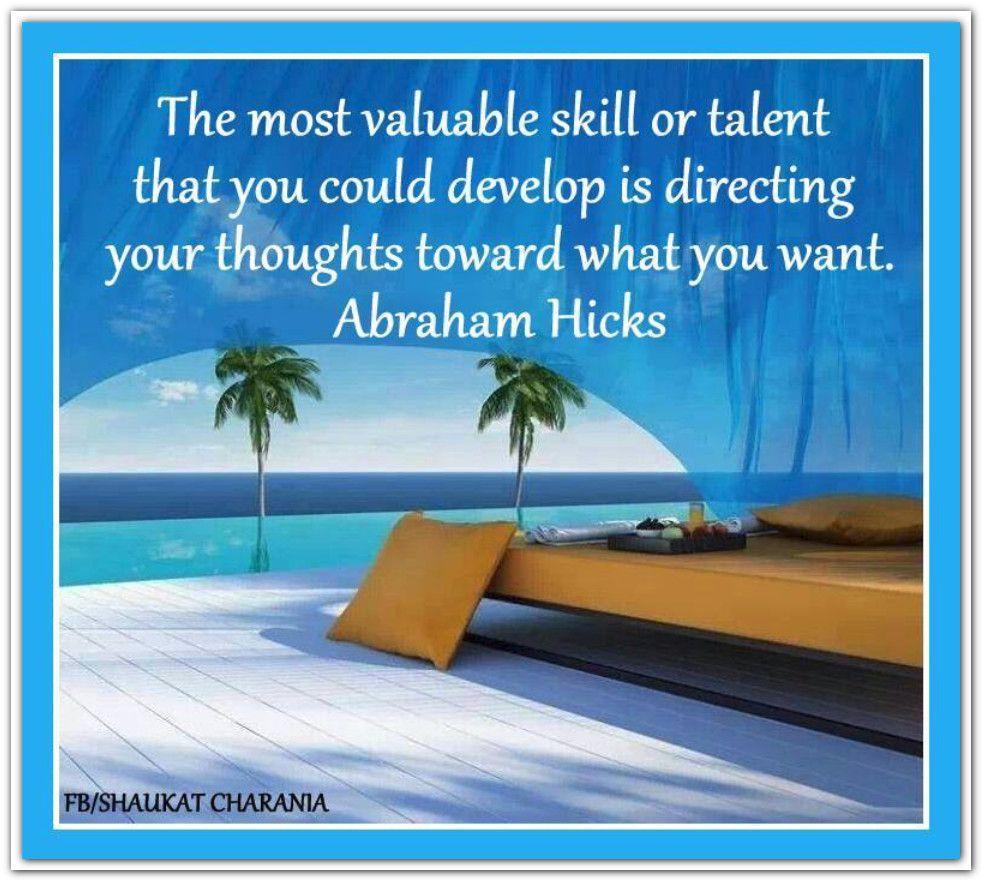 Focus - Abraham Hicks