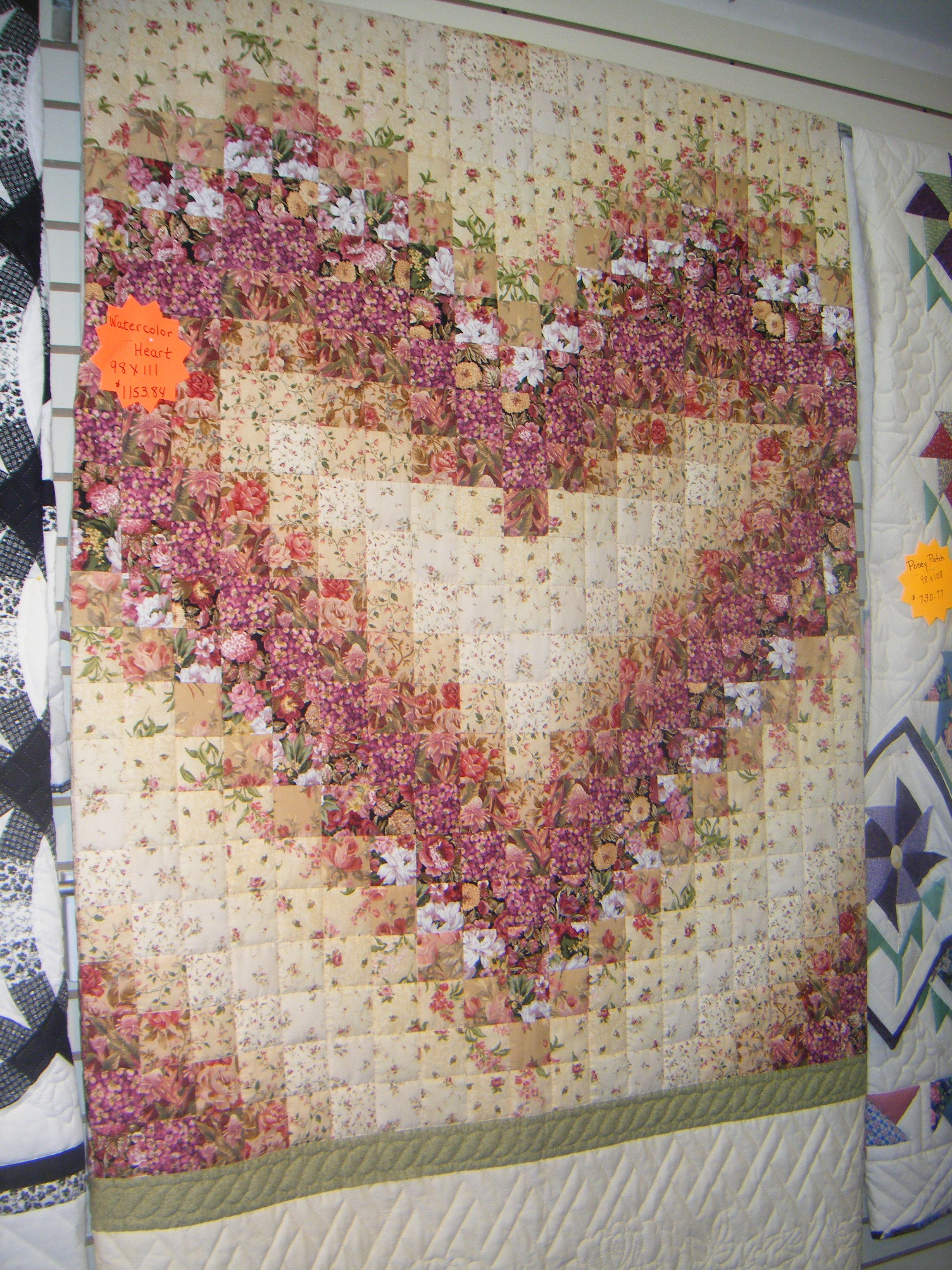 Great Idea An Amish Town An Amish Quilt Bargello Quilt