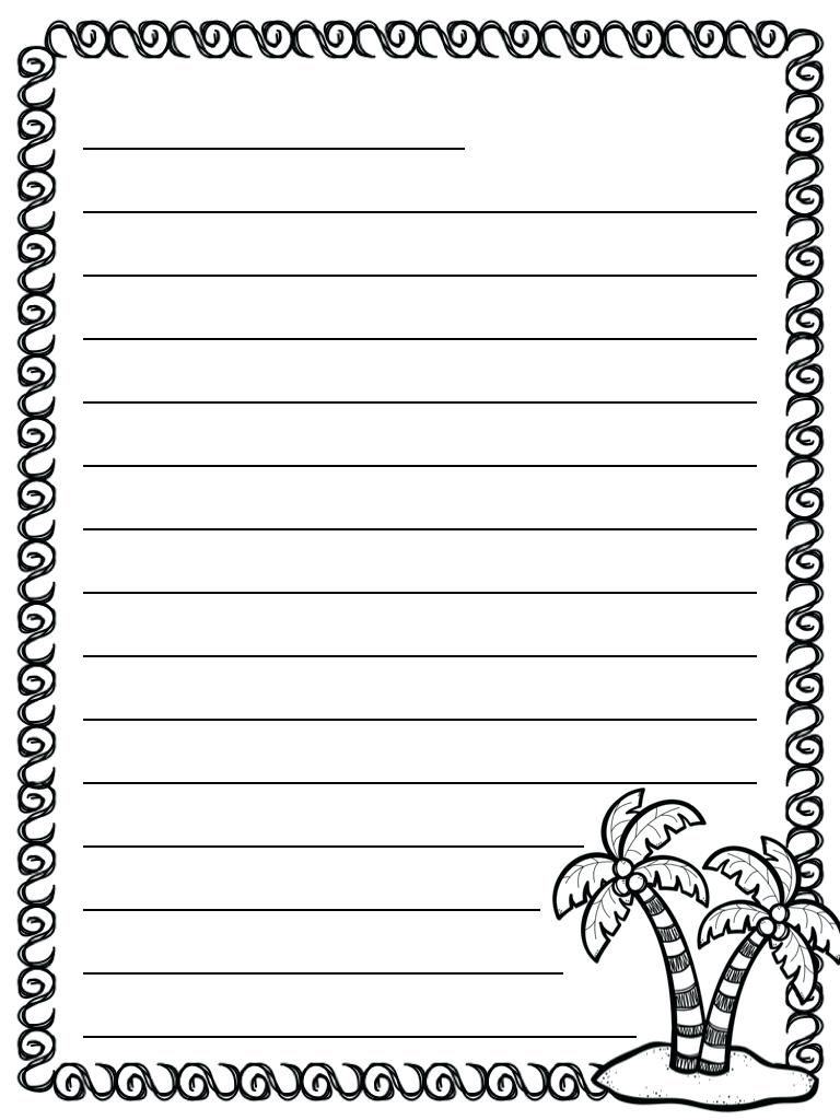 48 Pretty Letter Writing Paper Kittybabylove For Blank Letter Writing Template For Kids Best P Letter Writing Paper Pretty Letters Letter Template For Kids Letter writing paper for kindergarten