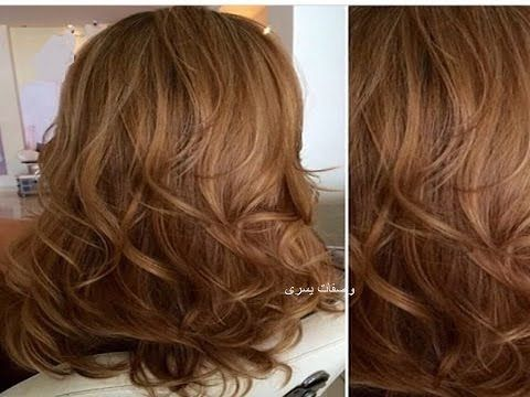 لون رائع جدااا شعر بني بمكونات طبيعية وبدون اكسجين والنتيجة مذهلة وغتعجبكم ان شاء الله مجربة Youtube Hair Beauty Hair Styles Long Hair Styles