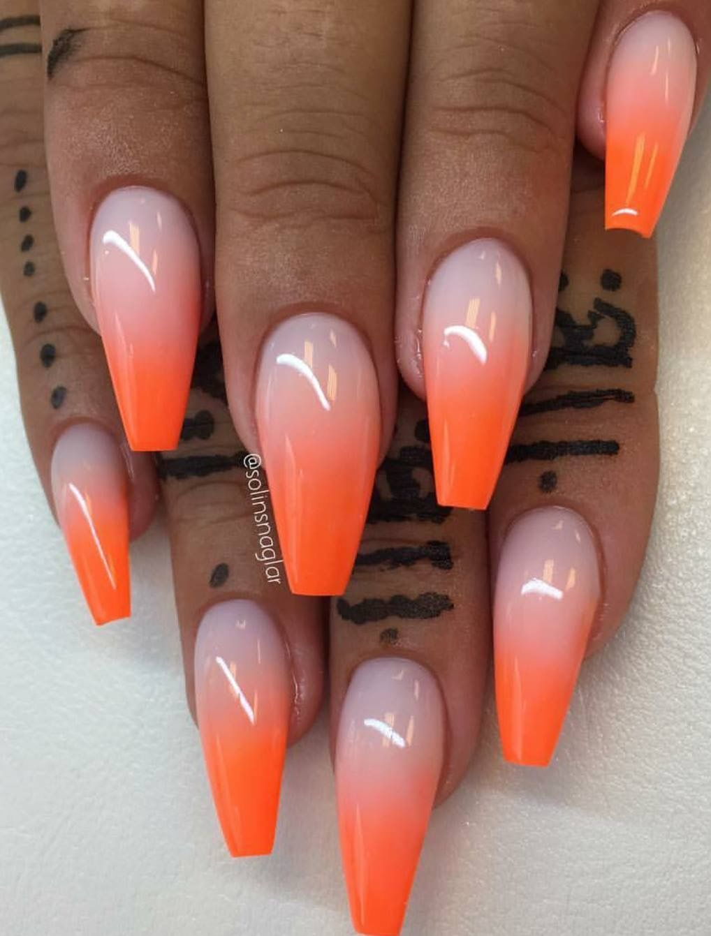 Pin by Khandella Mignott on Nail Design and Art | Ombre ...
