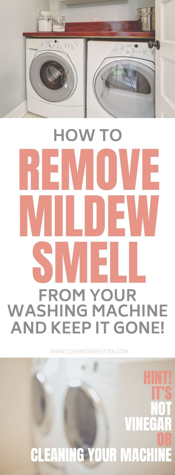 Get The Mildew Smell Out Of Your Washing Machine For Good | Washing ...