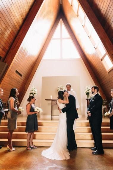Memorial Day Weekend Wedding At St Augustine Chapel At