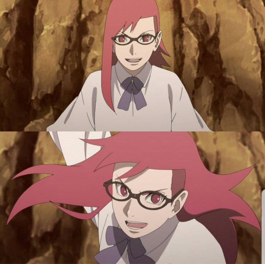 Uzumaki Karin Boruto Narutonextgeneration Karin Manga Naruto Manga Karin Uzumaki