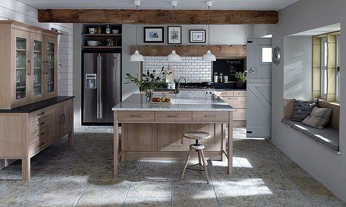 A Broadoak Rye Natural Shaker Kitchen Design Idea - http://www.diy-kitchens.com/kitchens/broadoak-rye/details/