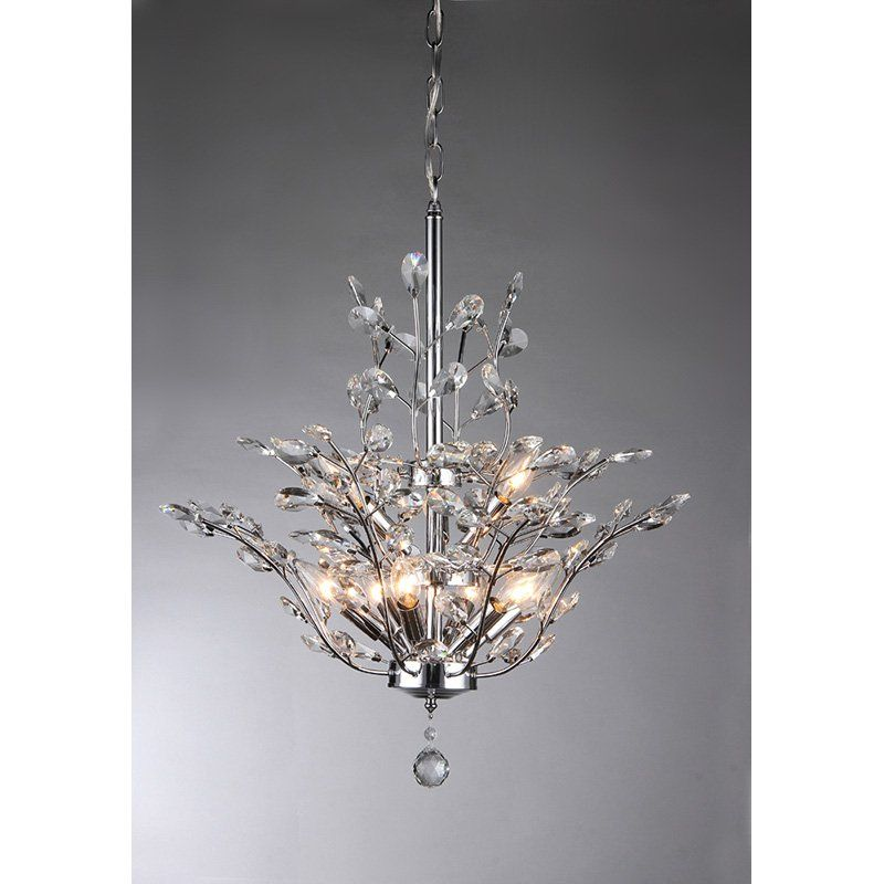 Warehouse Of Tiffany Anastasia Leaf RL8000B Chandelier