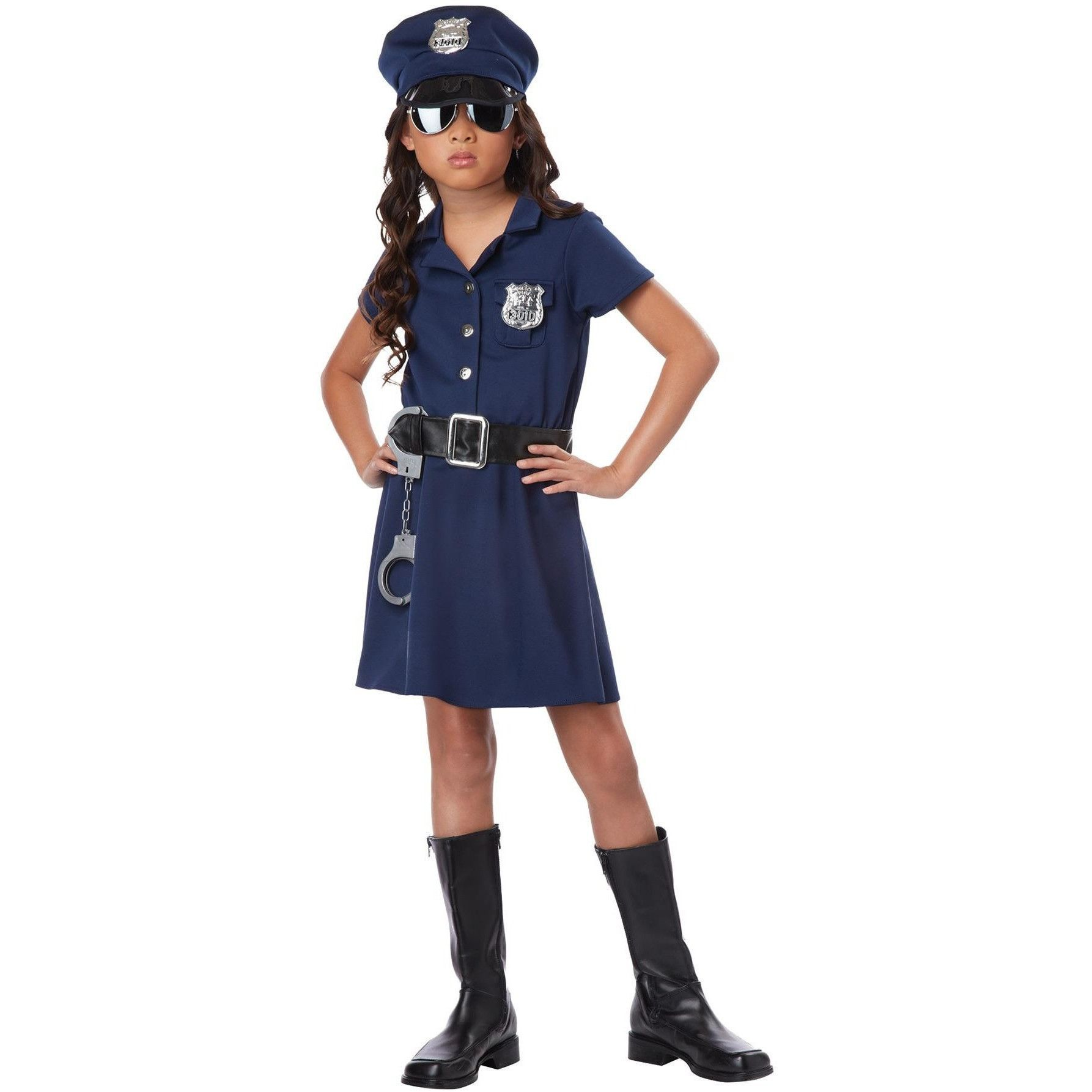 Police Officer Child Xlg 12 14 In