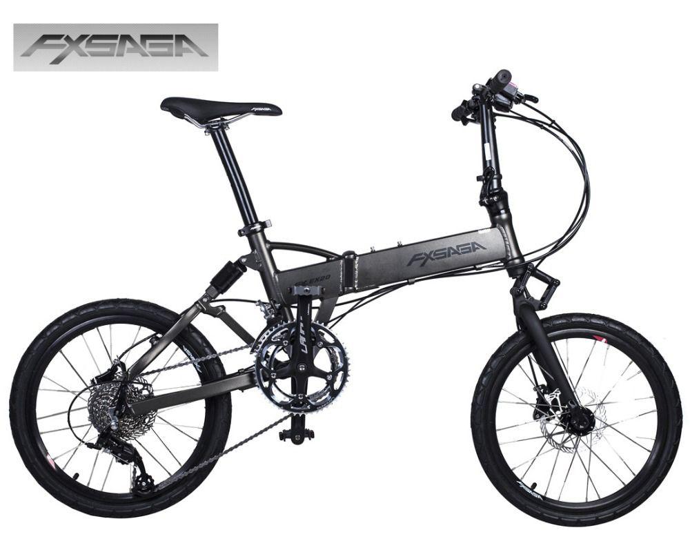 Fxsaga 20 Inch Aluminum 9 Speeds Full Suspension M355 Hydraulic