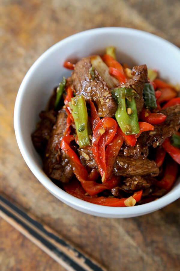 Beef Stir Fry With Spicy Hoisin Sauce Pickled Plum Food And Drinks Recipe Asian Stir Fry Recipe Beef Stir Fry Hoisin Sauce