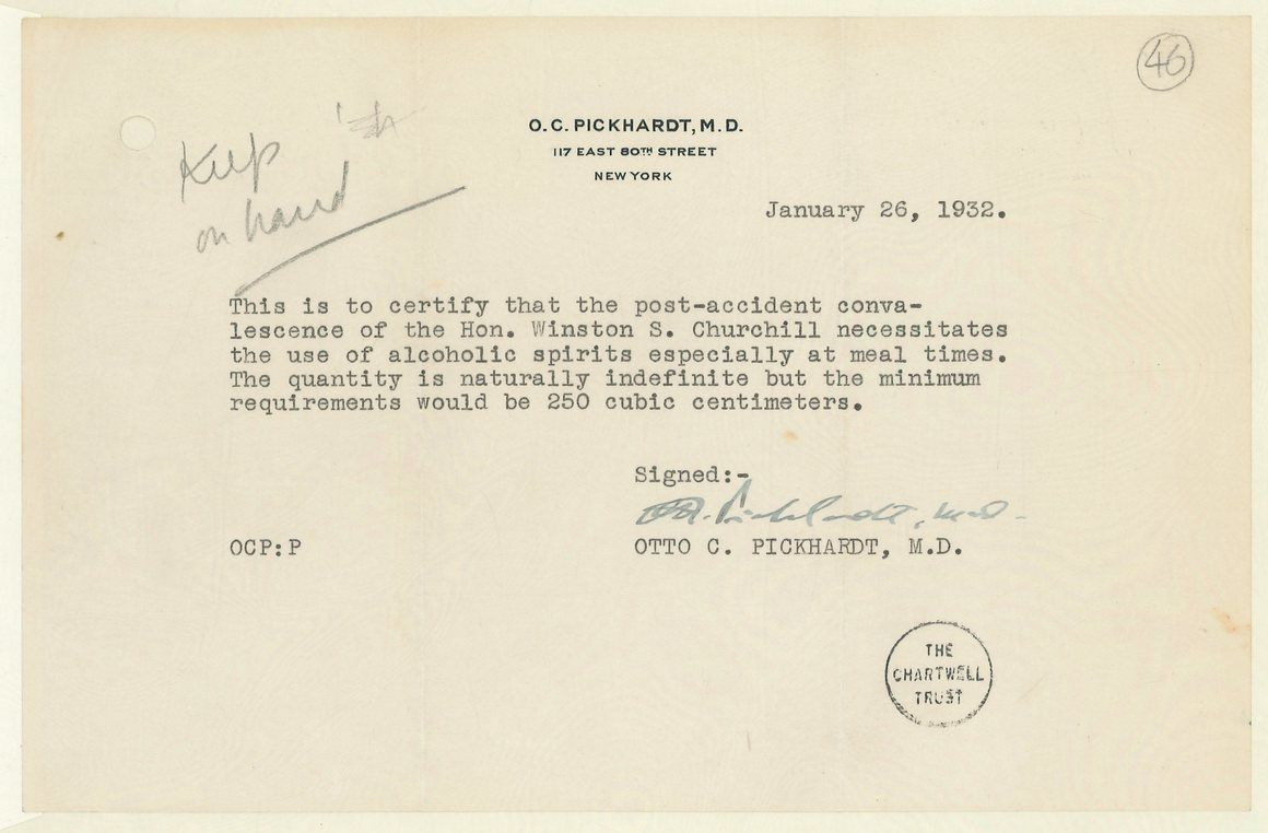 During Prohibition Doctors Wrote Prescriptions For Booze