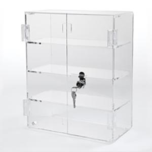 Acrylic Rectangular Locking Display Case Locking Display Case Acrylic Display Case Display Case