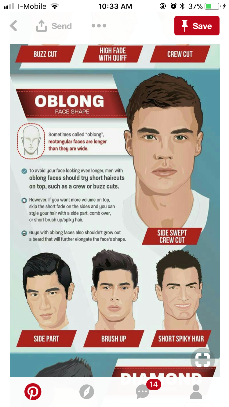 Pin By Michael Getty On Hair Style Face Shape Hairstyles Men Mens Hairstyles With Beard Oblong Face Hairstyles