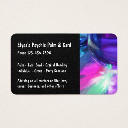 Palm reading advice business card modern gifts cyo gift ideas palm reading advice business card modern gifts cyo gift ideas personalize colourmoves
