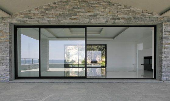 Chassis Coulissant En Alu Architecture Fenetre Coulissante Alu Baies Vitrees Y Fenetre Coulissante