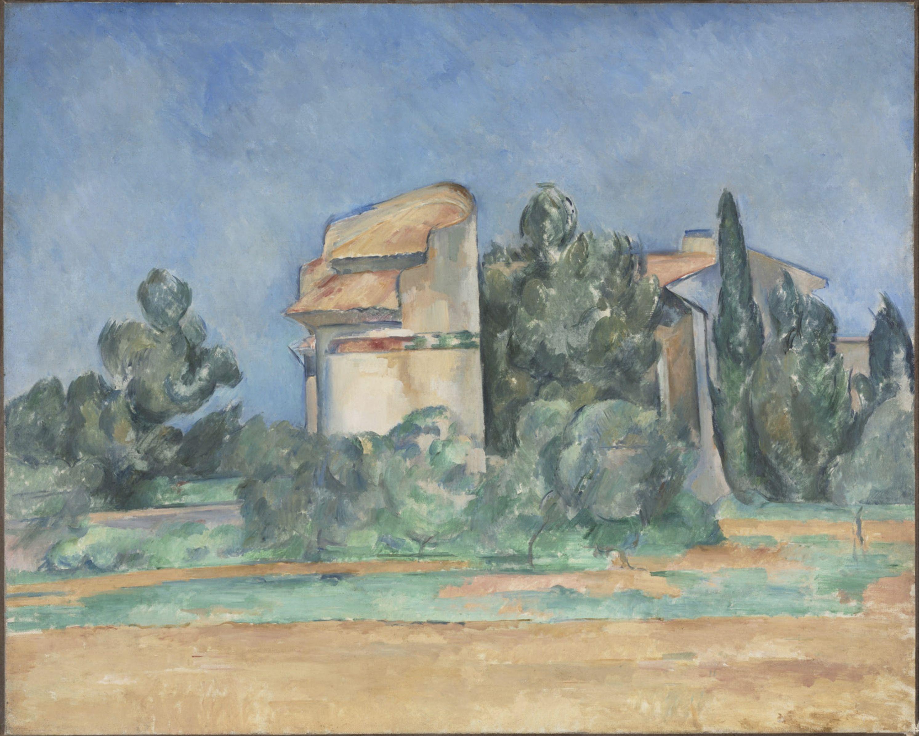 Paul Cézanne - Le Pigeonnier de Bellevue (1889-1890)