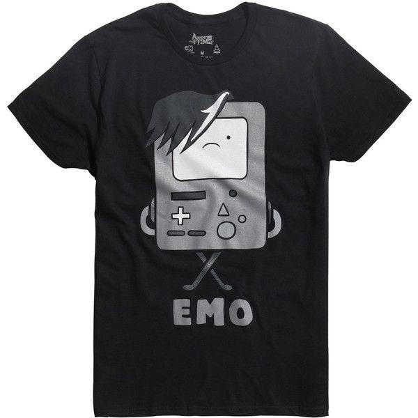 Adventure Time Emo BMO T Shirt Hot Topic ($21) </p>                     </div>   <!--bof Product URL --> <!--eof Product URL --> <!--bof Quantity Discounts table --> <!--eof Quantity Discounts table --> </div>                        </dd> <dt class=