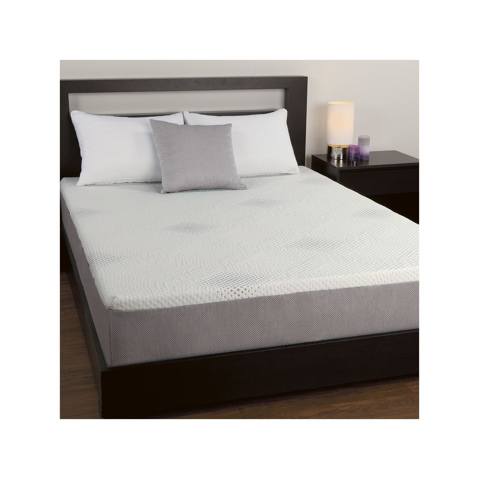 sealy posturepedic 10 in cal king memory foam mattress 72 x 84