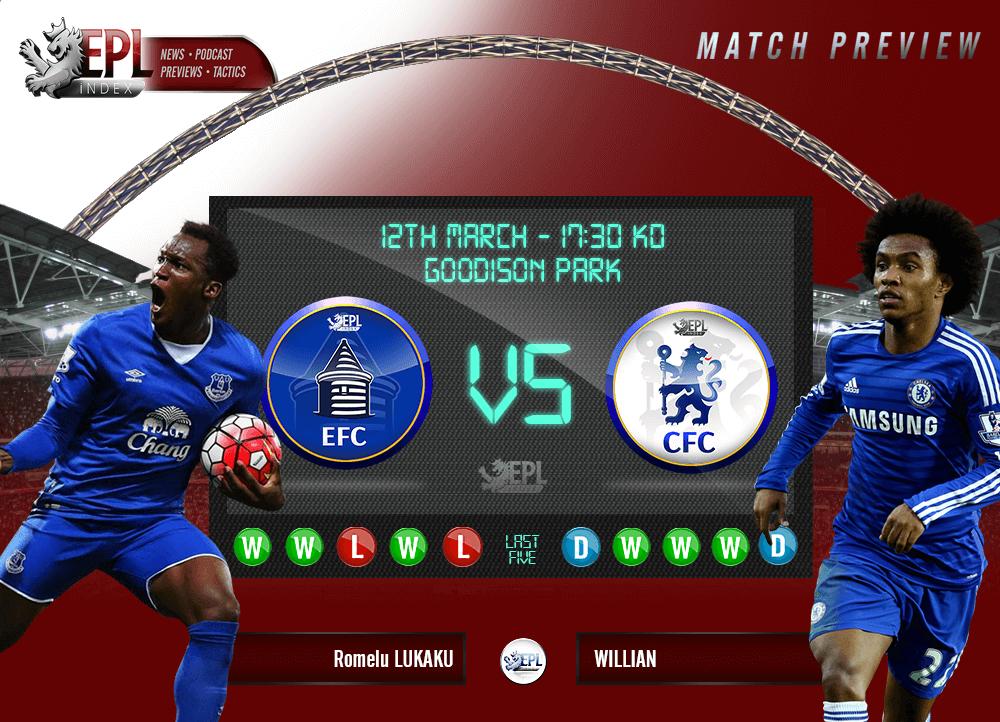 Everton vs Chelsea Preview Team News, Key Men & Stats