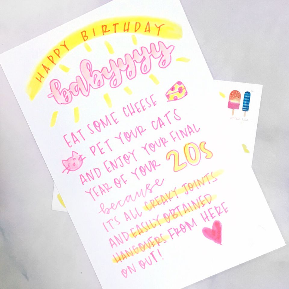 A Well Written Personal Birthday Card Is Obvi The Best Way To Send Wishes And While There I Birthday Cards Birthday Card Messages Funny Birthday Card Messages