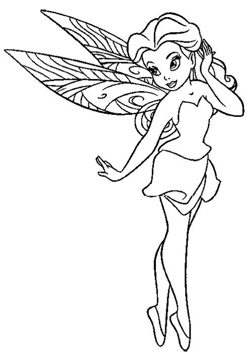 Little Fairies Coloring Book  Coloring book  Pinterest