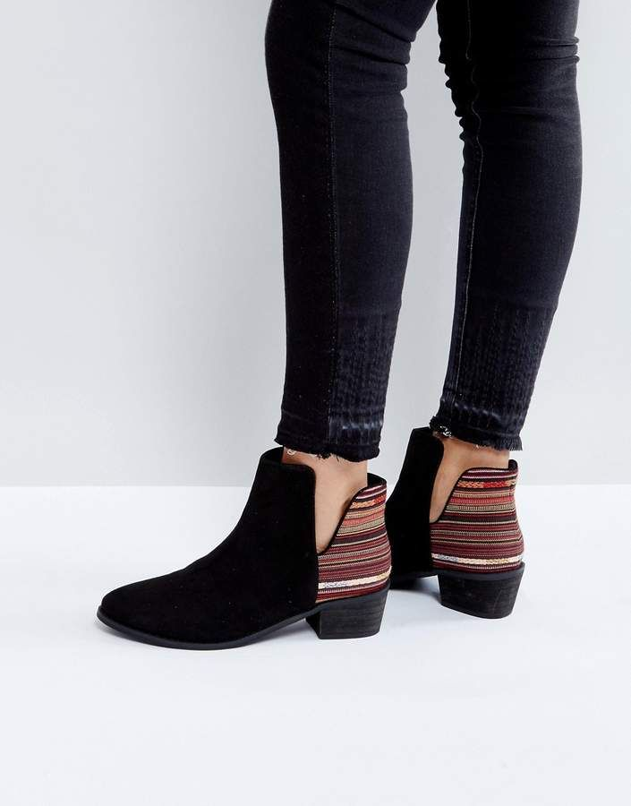 Bianco SPITZ ZULAUFENDE - Classic ankle boots - black drqxDA8qK