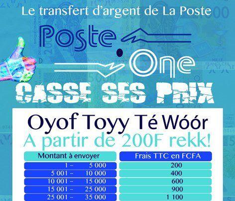 Poste One La Poste Transfert