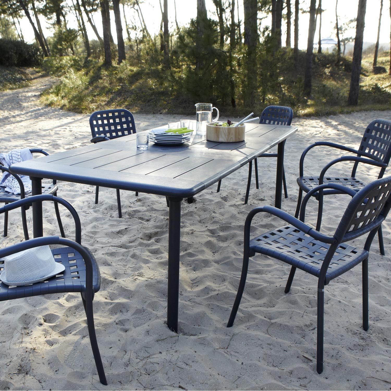 table jardin rallonge | ++ déco idées achat | Outdoor tables ...