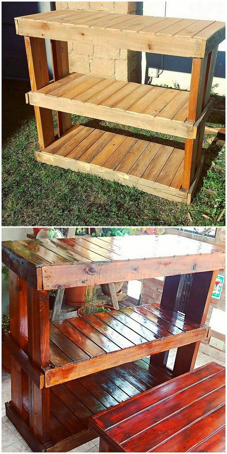fantastic diy wooden pallet ideas that can be created with little