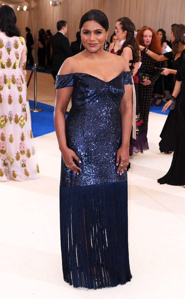 Mindy Kaling From 2017 Met Gala Worst Dressed Stars Best Celebrity Dresses Celebrity Dresses Met Gala Red Carpet