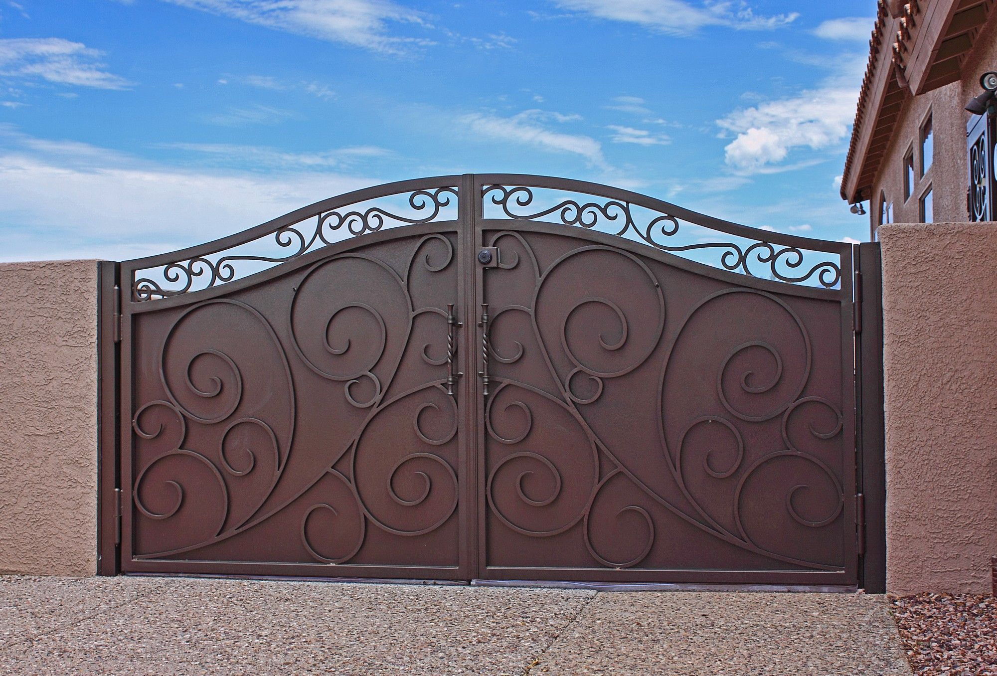 Awesome Products Iron Gate Design Ideas, Pictures, Remodel And Decor