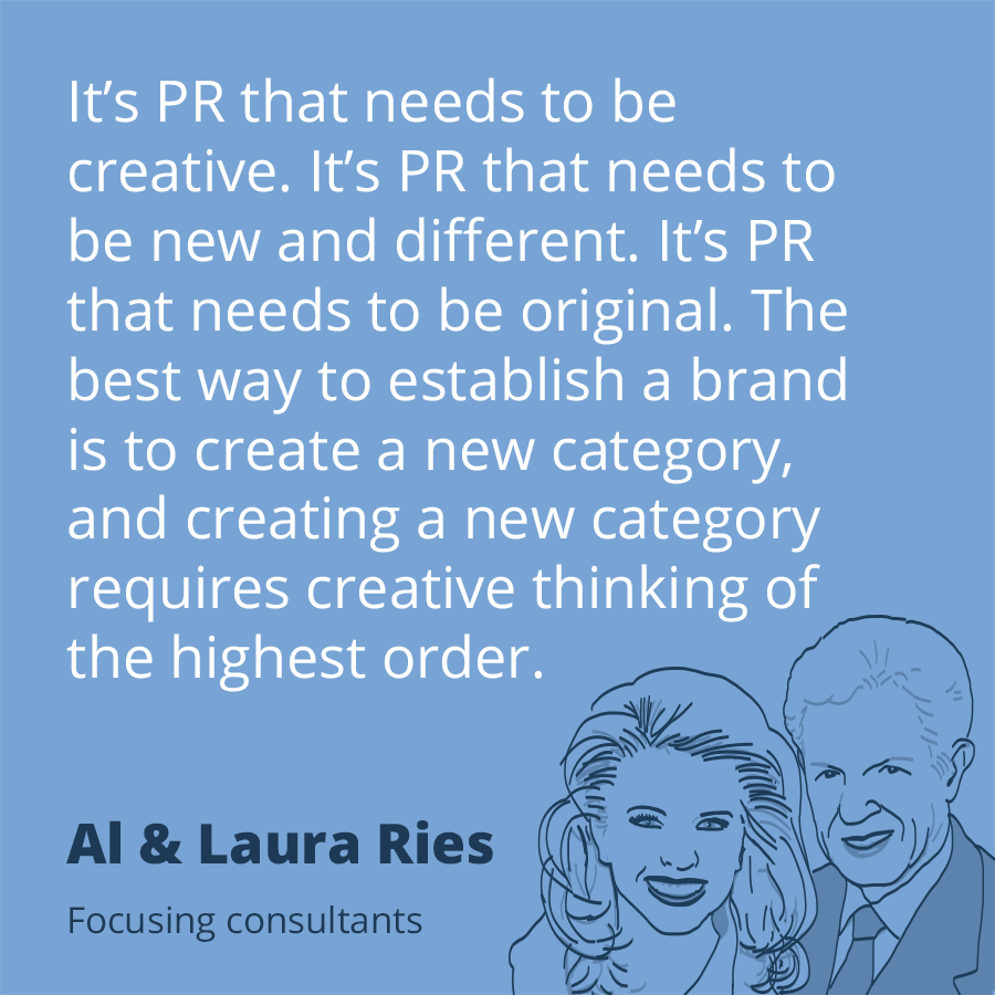 Pr Quotes Prepossessing Pr Quoteal & Laura Ries#publicrelations  Pr  Pinterest