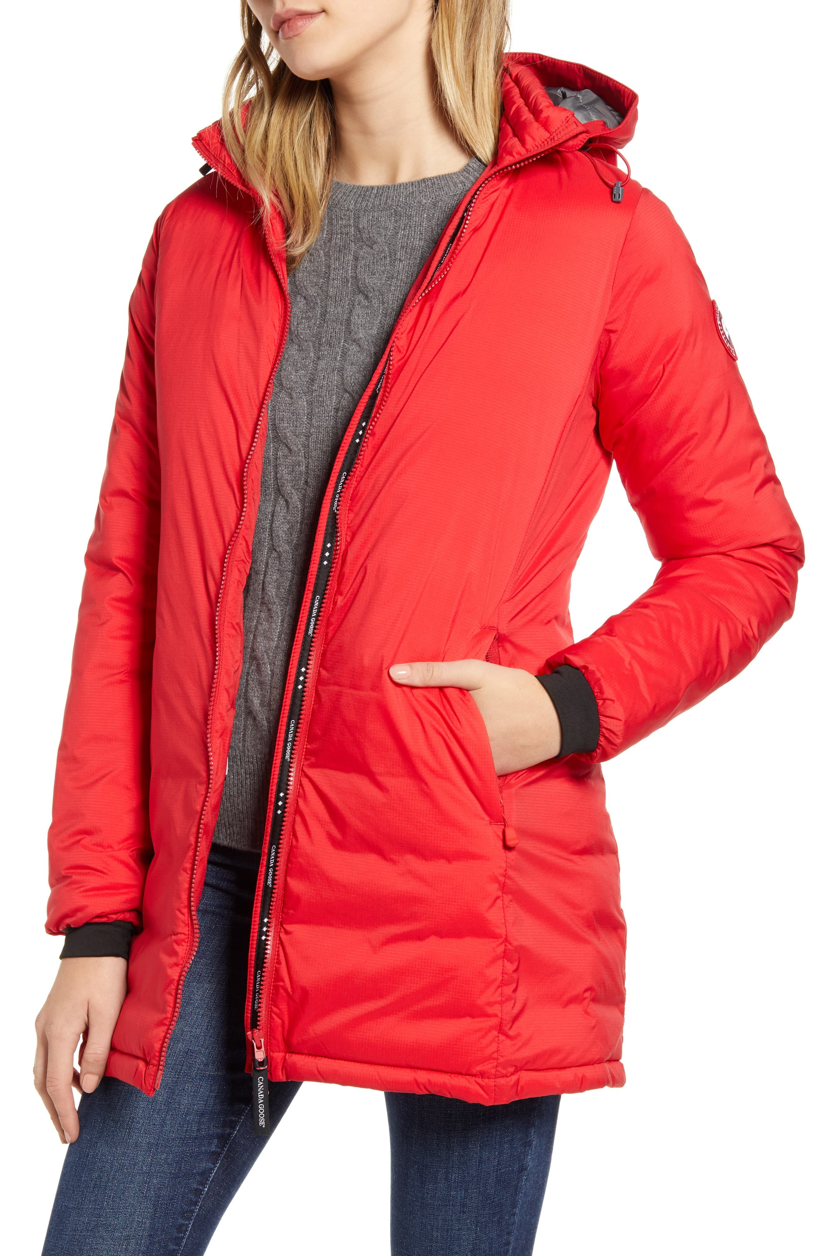 Women's Canada Goose Camp Hooded Down Jacket, Size Medium