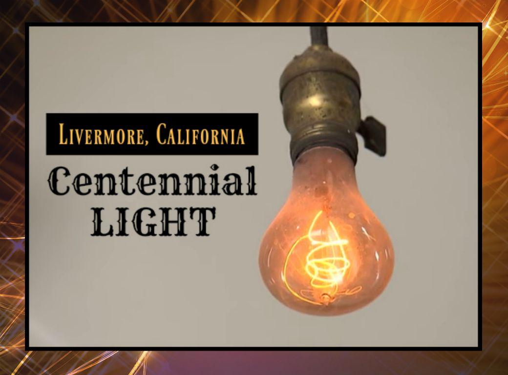 Centennial Light In Livermore, California   The Worldu0027s Longest Lasting Light  Bulb, Burning