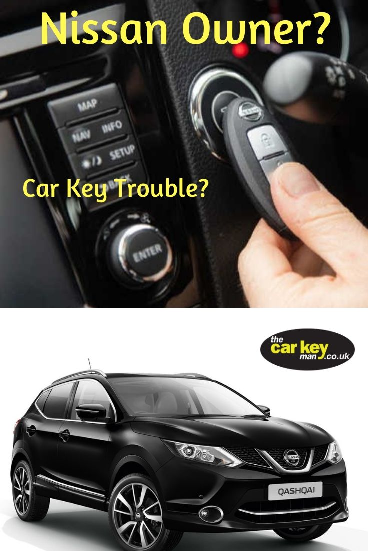 Nissan wont start key id incorrect the car key man