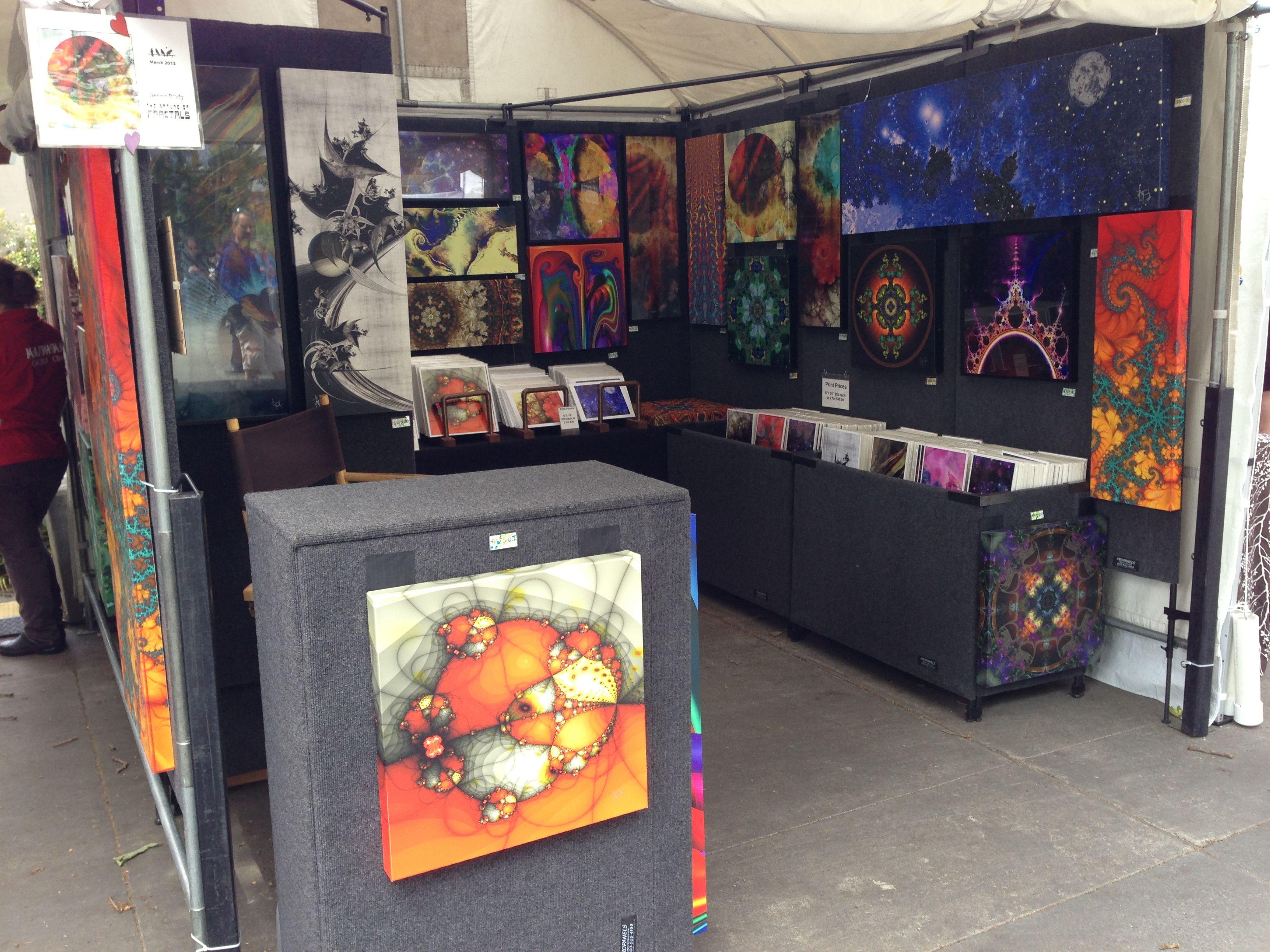Art Booth Display Panels