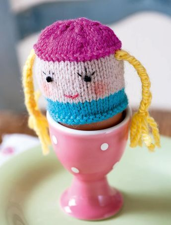 Egg cosy knitting patterns (With images) | Easter crochet ...