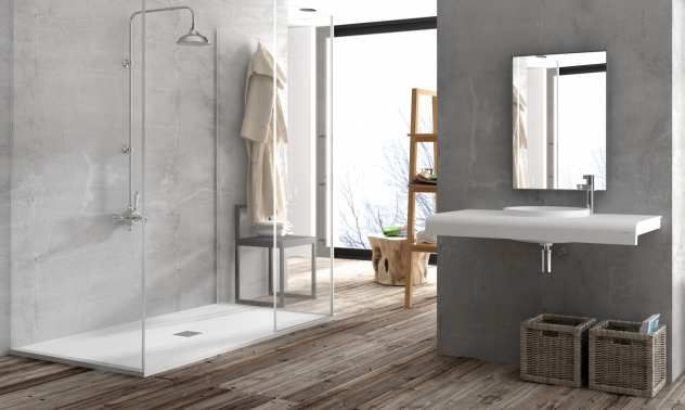 Badezimmer Dusche ~ Mcbath duschboden coliseo stone nox bad duschen