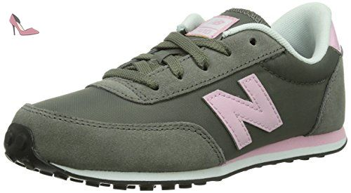 New Balance Kl410 M, Baskets mode mixte enfant, Gris (Dpy Grey Pink ... 12d3f042b8c2