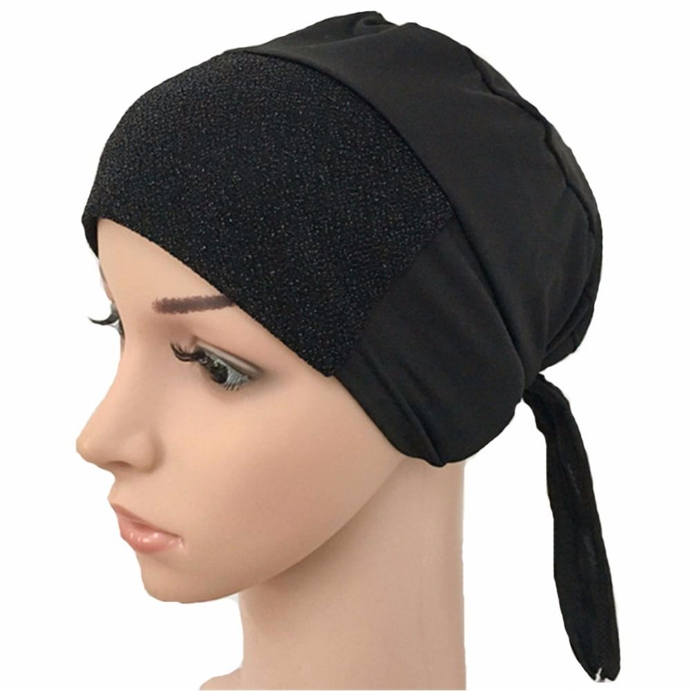 Inner Hijab Modal Cap Bandage Underscarf Also as Face Masks for Protection